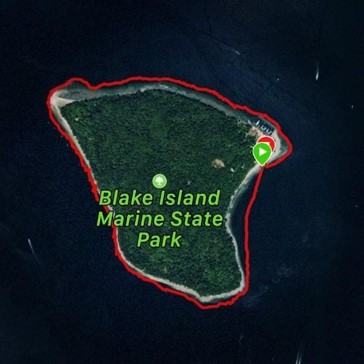 Circumnavigation of Blake Island